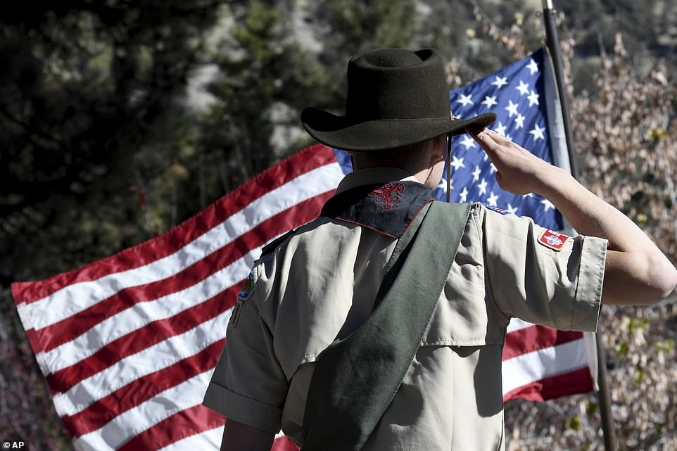Millions Across America Salute The Men And Women Who