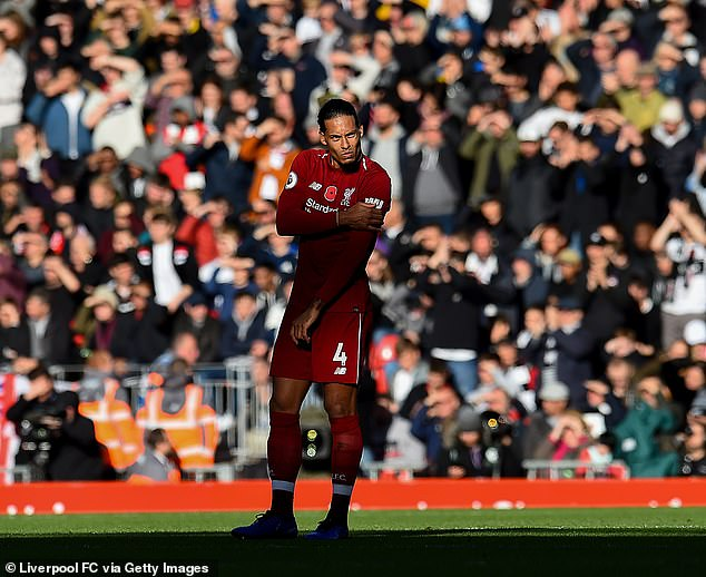 Holland international Virgil van Dijk has been a rock at the back for Liverpool since his move