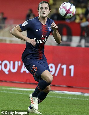 Adrien Rabiot has told Barcelona he wants to join them according to Mundo Deportivo