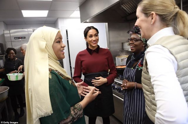 The kitchen has been redesigned with the women's input to capture its spirit as a place for the community to come together