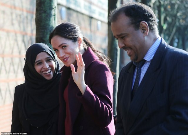 The Duchess of Sussex returned to the kitchen which inspired her collaborative work on a Grenfell charity cookbook