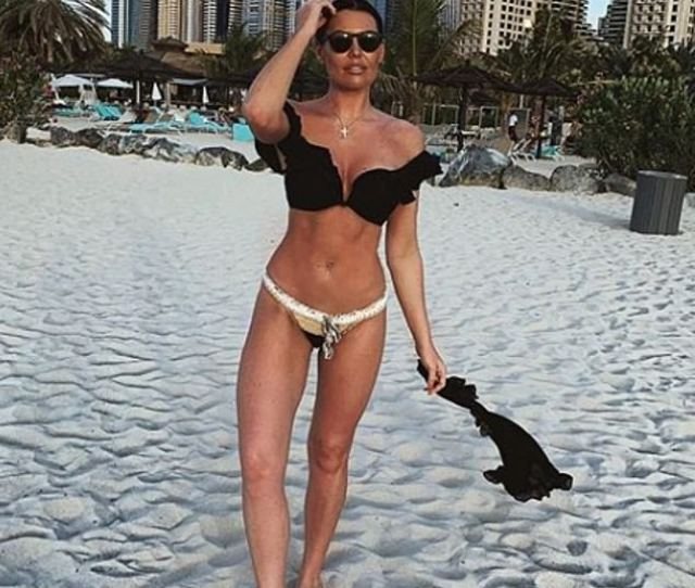 Looking Good Jess Wright Proved She Was Making The Most Of The Winter Sun