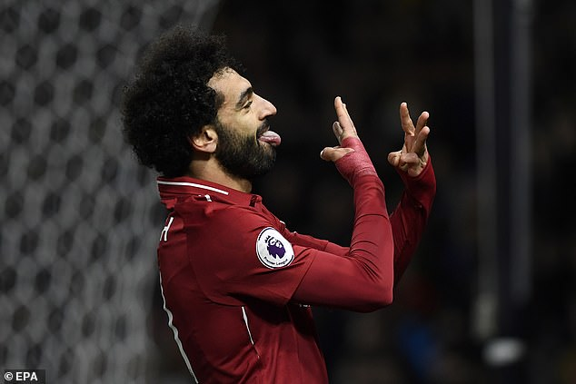 Mohamed Salah is Liverpool's most successful scorer after Jurgen Klopp after his last goal