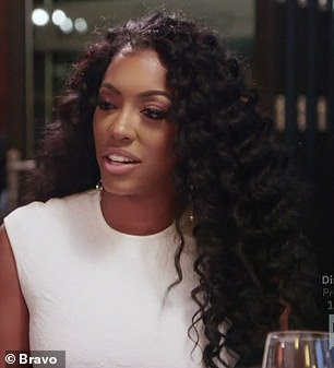 Good question: Porsha was stumped when asked if they were getting married