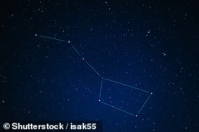 Beidou is the Chinese name for the famed star constellation known in many other cultures as the 'Big Dipper' (pictured)
