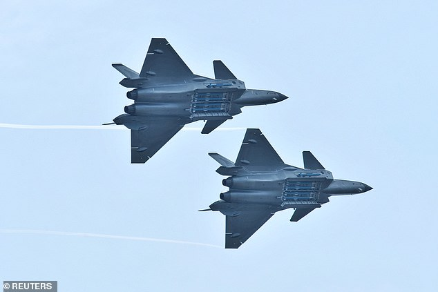 Beidou is currently operational in China and neighboring regions and will be globally available by 2020, the country claims. It is set to be implemented in a wide variety of systems including smartphones, autonomous cars, ships and planes - including the J-20 fighter (pictured)
