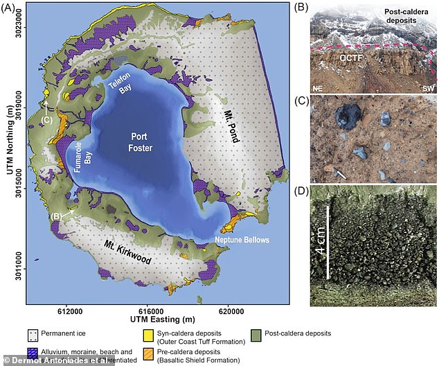 Less than 4,000 years ago, Antarctica was hit by what's thought to be the largest volcanic eruption on the continent since the last Ice Age. The team studied sediment core samples extracted during the HOLOANTAR project, between 2012 and 2014