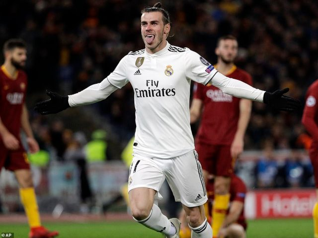 Bale punished Roma's wastefulness to give Real a 1-0 lead shortly after play had restarted following the half-time interval