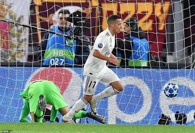 Lucas found the net with a simple finish from close range after 59 minutes to wrap up a morale-boosting victory for Real