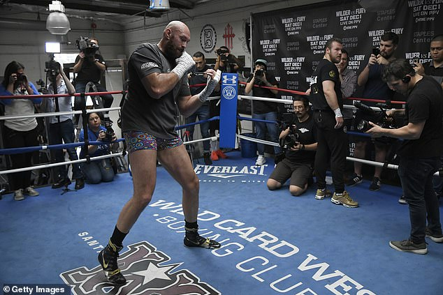 Fury has spoken openly about mental health and has found a new lease of life under Davison