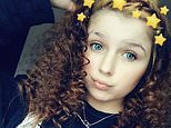 Viktorija Sokolova, 14, pictured, was found battered to death in a park in Wolverhampton and was allegedly murdered by a boy, 16, she had arranged to meet up with