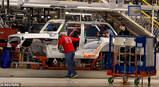 The production will also take place in the same factory as the Jeep Wrangler in Toledo, Ohio (pictured).