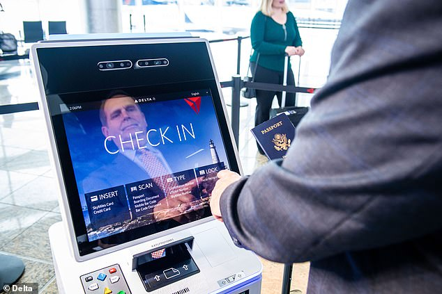Getting through airport security is now as simple as scanning your face. Delta Air Lines today launched the first 'biometric terminal' in the US at Atlanta's Hartsfield-Jackson airport