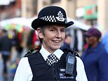 During the interview Cressida Dick (above) praised officers and said 'they couldn't be better trained.