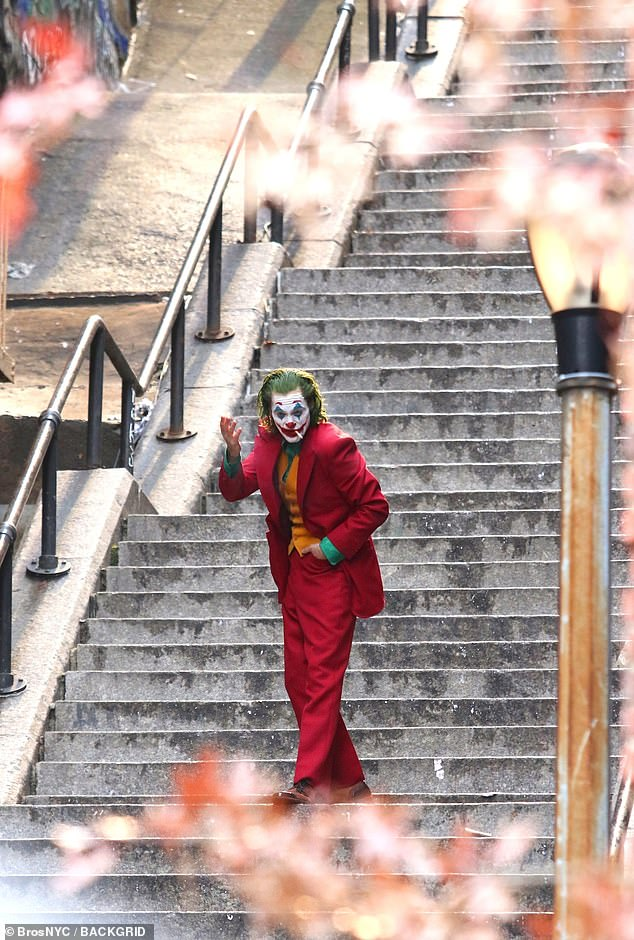 Joaquin Phoenix offers one final glimpse of The Joker on set as production wraps in New York