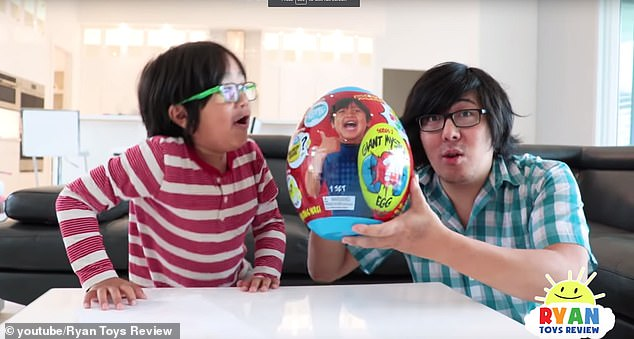 Popular: Ryan's channel Ryan ToysReview has a total of 21 million subscribers