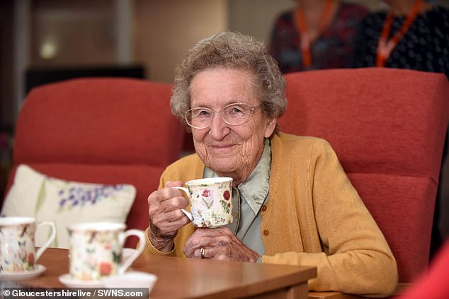 Residents of Rectory Court in Bishop's Cleeve say they have already noticed an improvement in services (pictured: resident Margaret Newman)
