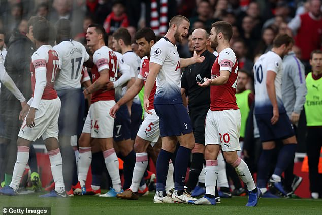 Both clubs have been charged for the mass brawl that followed Eric Dier's equaliser on Sunday