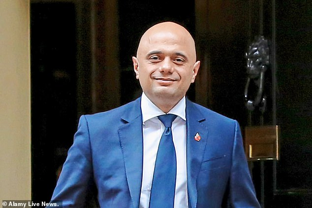 Ms Truss allegedly suggested that Sajid Javid (pictured) has to prepare for a possible leadership challenge to Theresa May