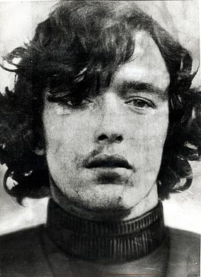 The first picture released in 1973 of David McGreavy after he was taken into custody