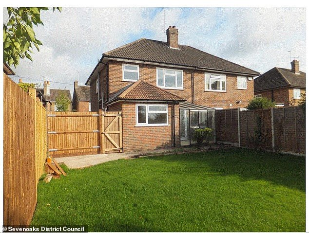 The Kent based property was initially rented out and then sold for £495k