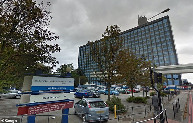 One attack on the eight-year-old boy left him in hospital at Hull Royal Infirmary, the father said