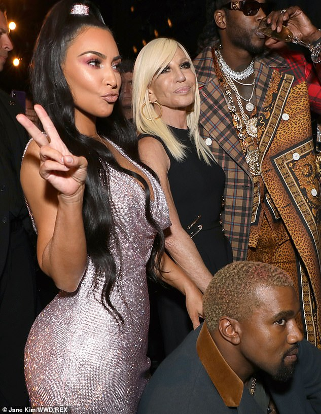 They have a bond:Kim has been in New York City in recent days with husband Kanye West. On Sunday they took in the new Versace show where Gigi Hadid, Hailey Baldwin and Kaia Gerber walked the runway