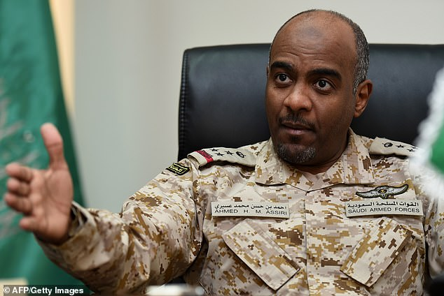 This morning, the office of Istanbul's chief prosecutor demanded arrest warrants for Saudi officials Ahmed al-Asiri (pictured) and Saud al-Qahtani over the slaying