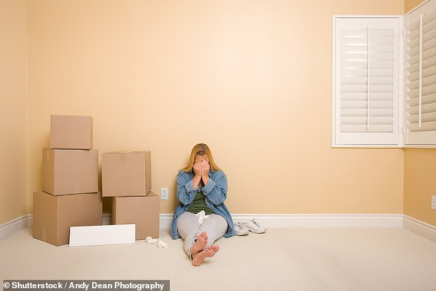 More than 140 families lost their homes every week last year as a result of repossessions