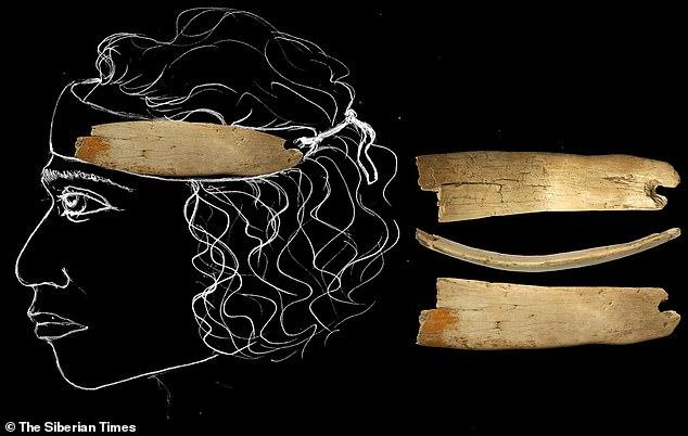 Histórico: una tiara de 50,000 años de antigüedad hecha de marfil de mamut lanudo se encontró en una cueva en Siberia, y fue un antiguo ícono de la moda para hombres, no mujeres, dicen los arqueólogos