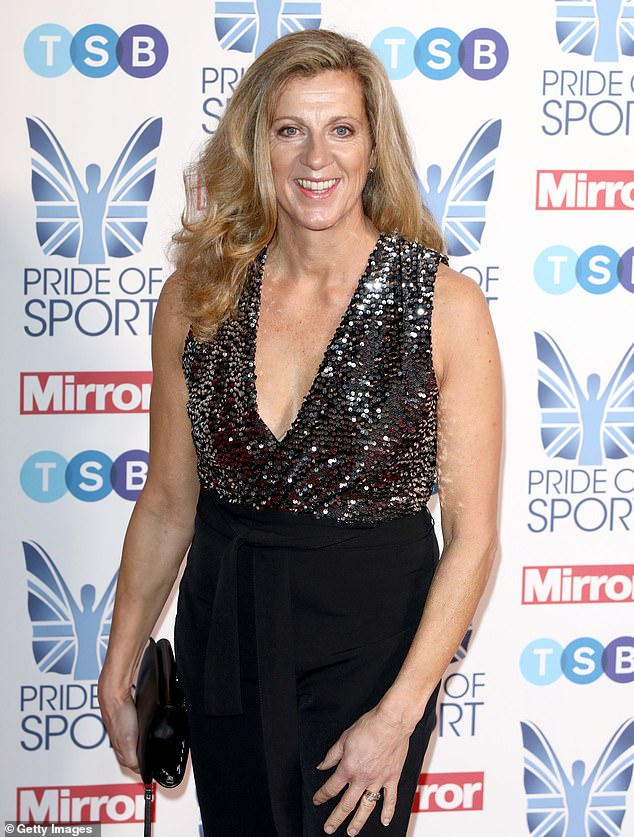 Sally Gunnell, former athletics athlete who won Olympic gold for the 400 hurdles