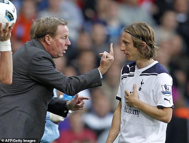 Luka Modric a nommé Harry Redknapp comme entraîneur qui a eu une grande influence sur sa carrière