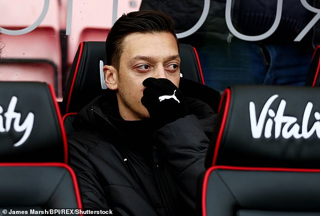 Mesut Ozil is among those that seem to use balloons to inhale nitrous oxide gas
