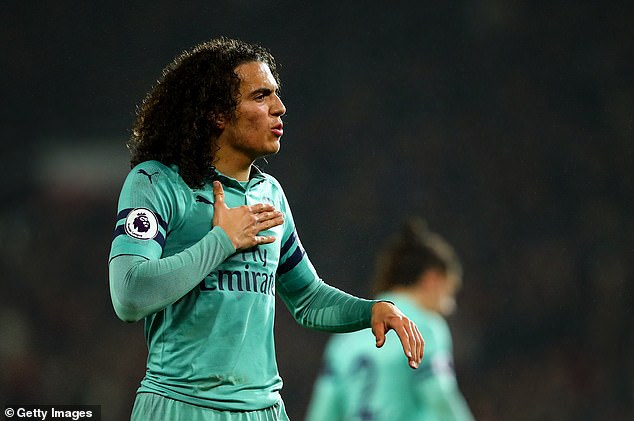 Matteo Guendouzi seems to lose consciousness during what is said to be a private party