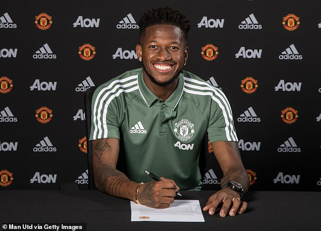 The Brazilian signed a five-year contract at Old Trafford in July after leaving Shakhtar Donetsk