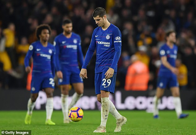 The consecutive defeats have left the Chelsea players in a difficult moment, while trying to overthrow the City