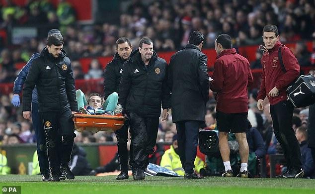 Holding se perderá hasta nueve meses de acción después de lesionarse contra el Manchester United
