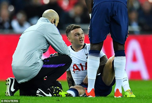 Pochettino insists Kieran Trippier's injury concerns go back to the World Cup this summer