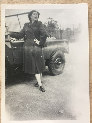 Dorothy Peters appreciated this photograph of her posing with Land Rover number 16 for 70 years - and then a chance meeting saw her and the 4x4 met