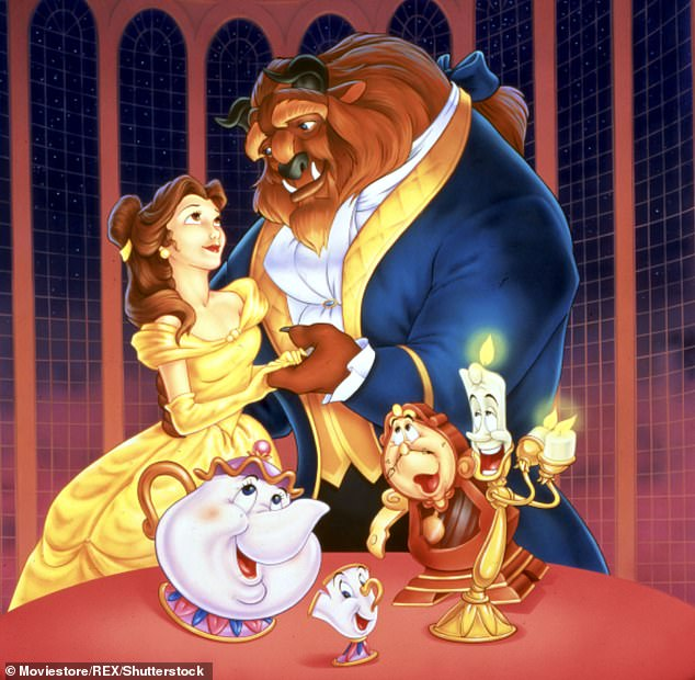 Imagineers worked with artists and animators from Walt Disney Studios - some of which worked on the original Beauty and the Beast film - to bring the characters to life