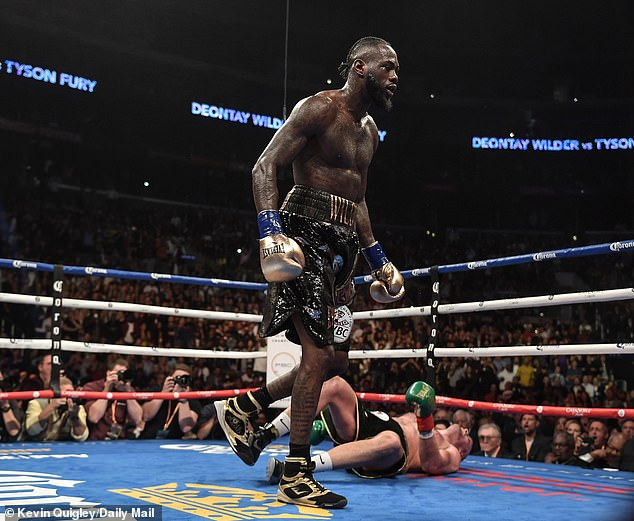 Fury got off the canvas twice but could not fight Wilder's belt in Los Angeles