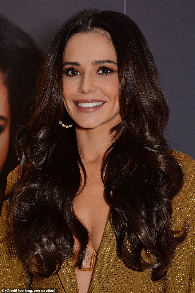 In good condition: According to the website, Cheryl's line comes with personalised brushes, a mini zip-up bag and a coat hanger for the hair pieces