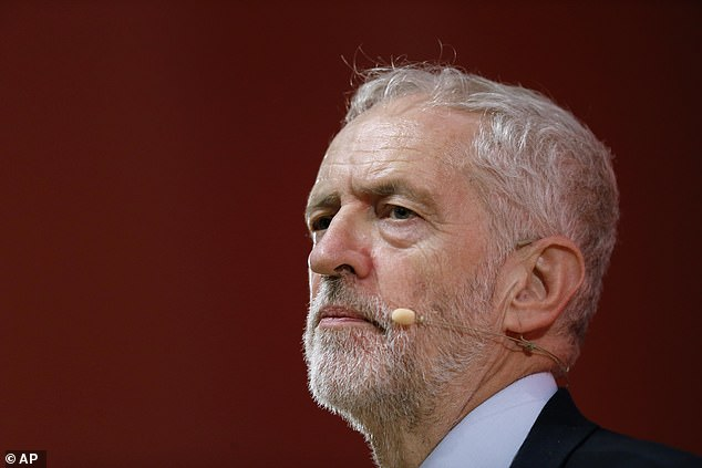 Jeremy Corbyn (pictured above) had been a speaker at a Defence Campaign meeting chaired by Osamor in 1986