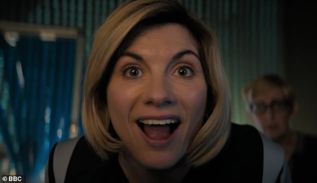 Blown away:Some viewers have been so impressed by her that they gushed she had completely embodied the character and was already '100% The Doctor' following her debut