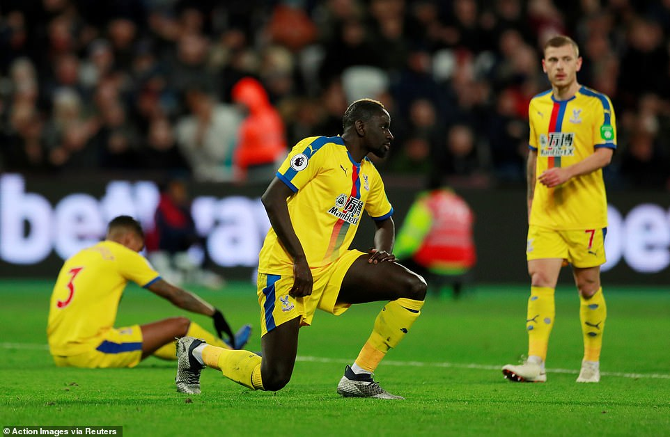 Discarded Crystal Palace players had to recover after leaving their advantage in the game's slide