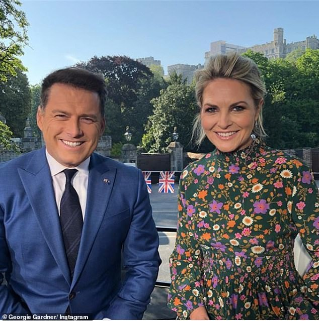 Feeling second best? Surprisingly, Georgie Gardner reportedly only managed to land herself on the 'reserves' guest list, despite working side-by-side with Karl on the Today five days a week