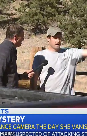 Frazee was seen earlier this week speaking to a reporter at his home