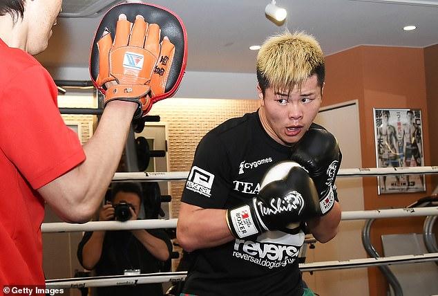 Tenshin Nasukawa says he often feels like kicking Floyd Mayweather for his comments