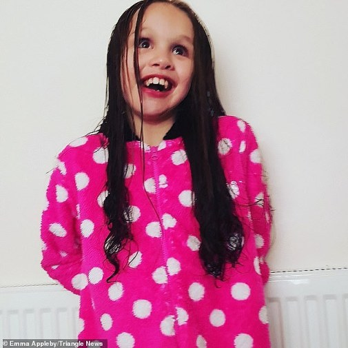 Teagan's mother previously said she welcomes any improvement to her daughter's suffering