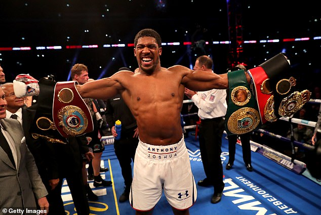 Joshua, who holds the WBA, WBO and IBF titles, is due to fight at Wembley on April 13
